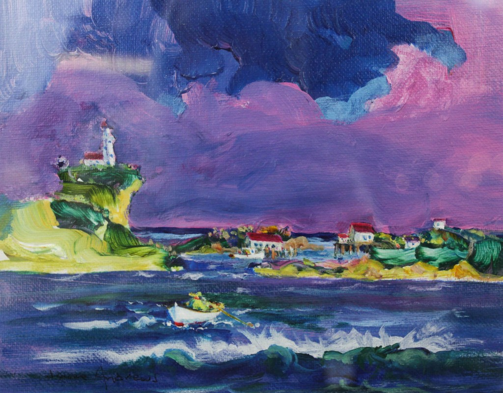 Jerome Andrews, Lighthouse Series, 8x10, $240