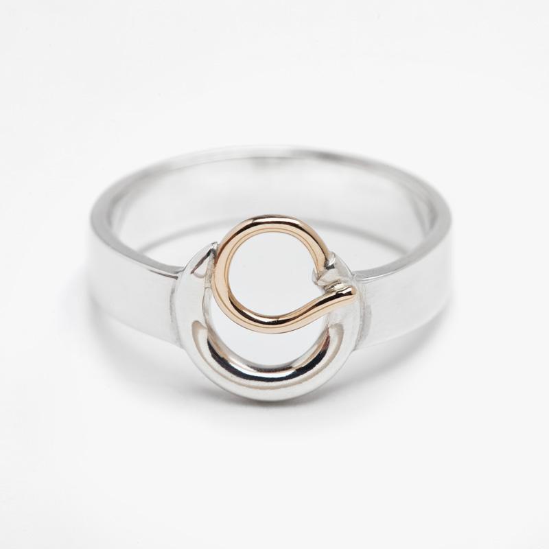 Gratitude Ring SS & Gold