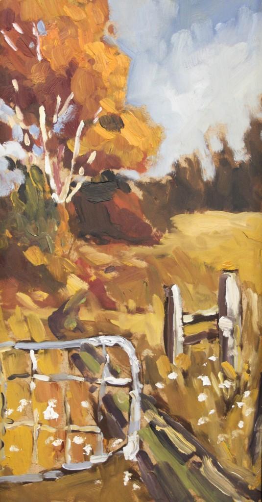Sophie Levesque, L'Automne 14x7.5, $210
